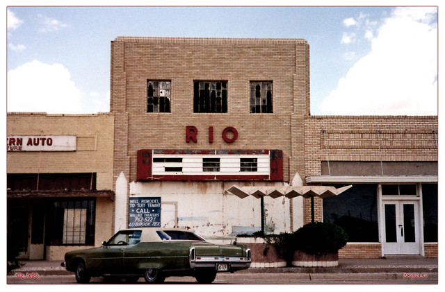 Rio Theater...Littlefield Texas
