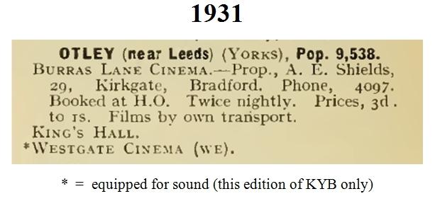 KYB 1931