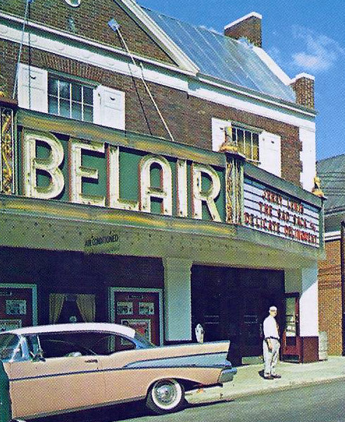 BELAIR Theatre (nee ARGONNE); Belair, Maryland.