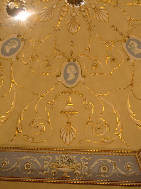 State Theatre (Cleveland, OH) - Ornamental plaster detail - lobby ceiling