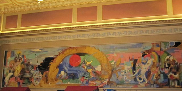 State Theatre (Cleveland, OH) - Grand Lobby Mural