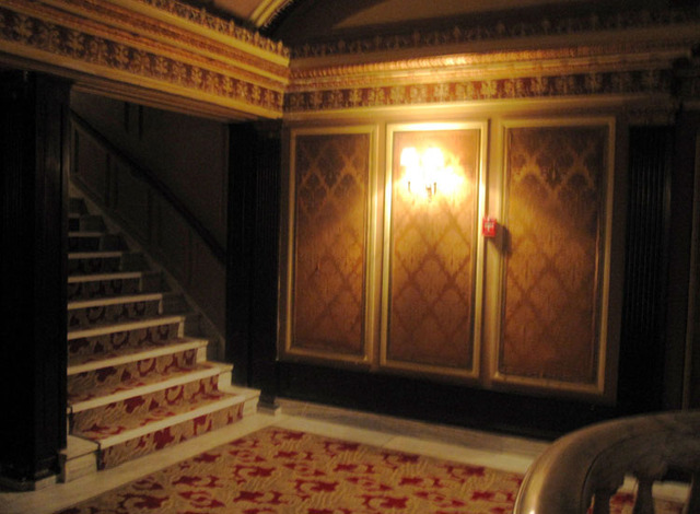 State Theatre (Cleveland, OH) - Stairway to upper balcony