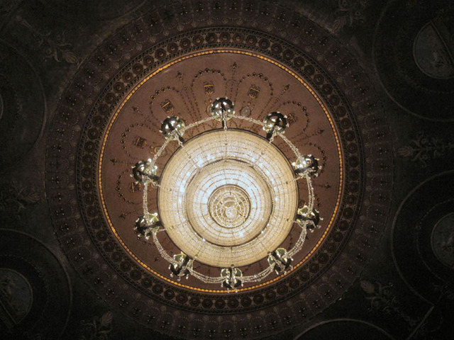 State Theatre (Cleveland, OH) - Auditorium Ceiling Cove Chandelier