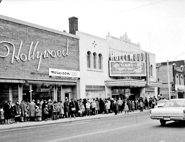 Hollywood Theatre 1965