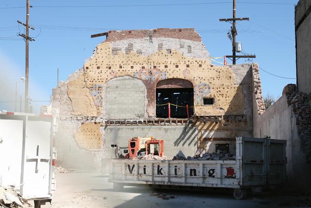Florence Mills Demolition, March 10, 2013