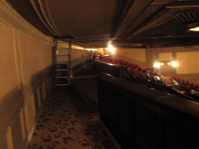 State Theatre (Cleveland, OH) - Rear balcony section of auditorium