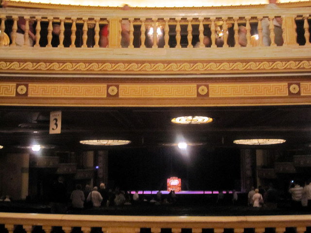State Theatre (Cleveland, OH) - View from orchestra foyer to stage