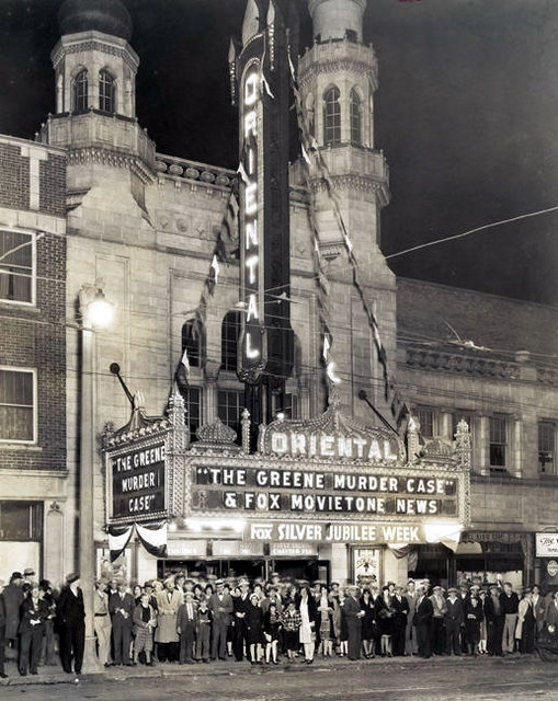 ORIENTAL Theatre; Milwaukee, Wisconsin.