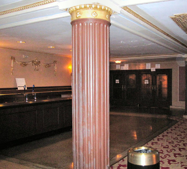 State Theatre (Cleveland, OH) - Bar between grand lobby and orchestra foyer