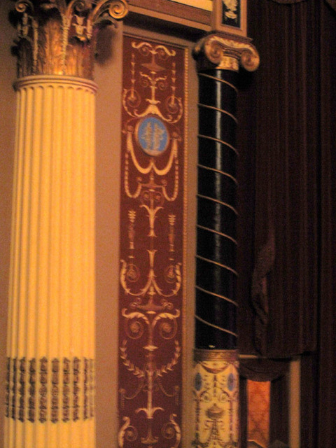State Theatre (Cleveland, OH) - Organ screen detail