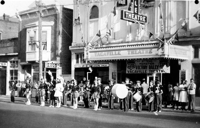 Vacaville Theater during WW2