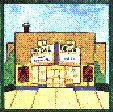 BELVIL Theatre artwork by Kathleen Mericki Miller, Belleville, Michigan.