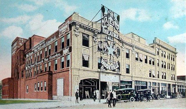 MAJESTIC Theatre; Fort Worth, Texas.