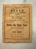 Beach Theater Handbill part 1