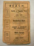 Beach Theater Handbill part 2