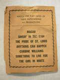 Beach Theater Handbill part 3