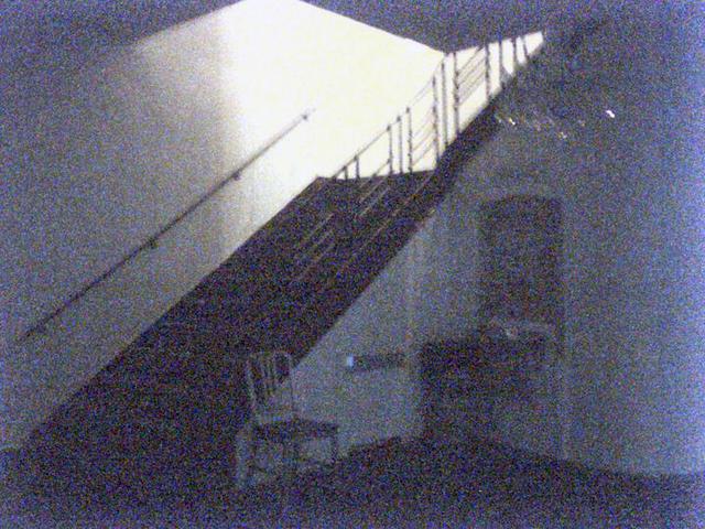Stairway to Restrooms