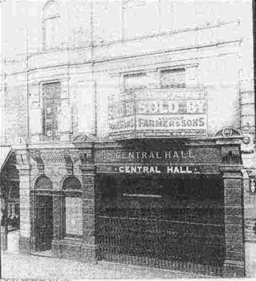 Peckham Central Hall c.1950