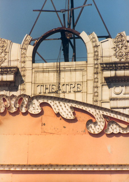 Biltmore Theater arch, August 1989