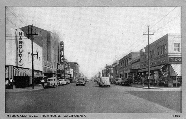 Fox Theatre Richmond 1944