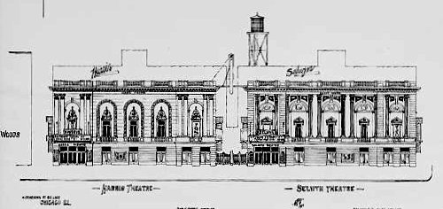 HARRIS and SELWYN Theatres; Chicago, Illinois.