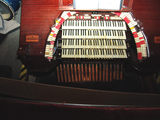 the Mighty Wurlitzer console