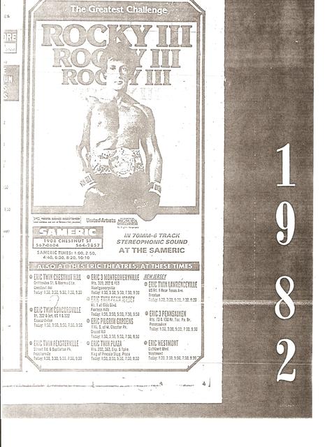 ROCKY III ad