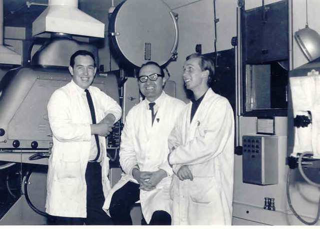 Left To Right   Terry White Co-Second,  Frank Shaw Chief,  Doug Blakemore Co-Third  in 1966