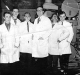 Left To Right  Doug Blakemore,  Geoff Allerton,  Terry White,  Frank Shaw,  Cyril Stanway  & Peter ?????