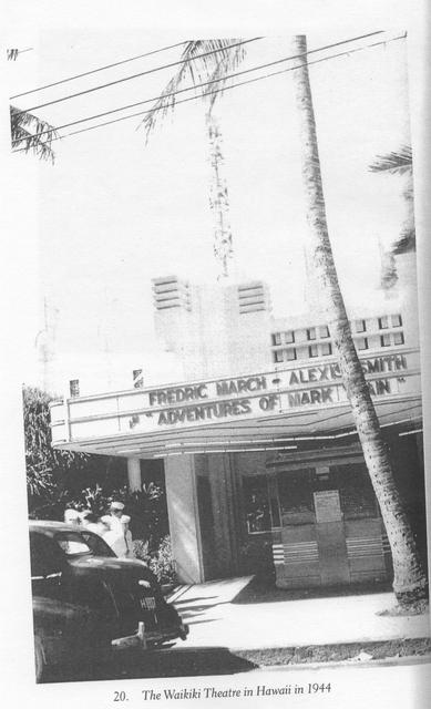 The Waikiki Theatre in 1944