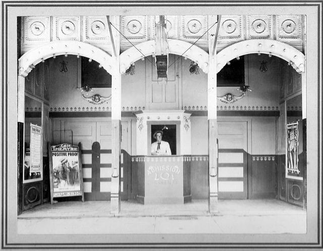 Gem Theater entrance