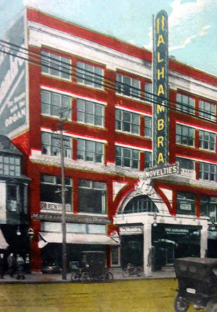 ALHAMBRA Theatre; Cleveland, Ohio.