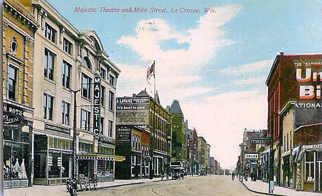 MAJESTIC Theatre; La Crosse, Wisconsin.