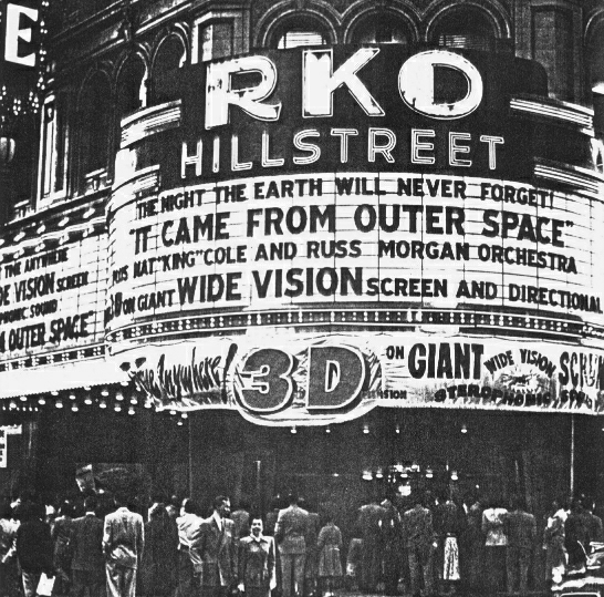 RKO Hillstreet 1953   3-D Stereophonic Sound in Downtown LA