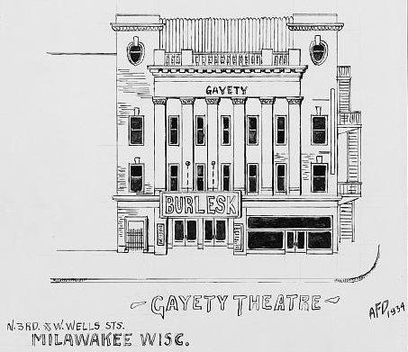 EMPRESS (GAYETY, NEW STAR, ORPHEUM) Theatre; Milwaukee, Wisconsin.