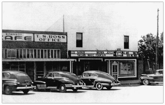 King Theater ... Gorman Texas
