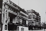 Regent Cinema showing the Albert Hall Cinema next door