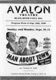 AVALON Theatre; Black River Falls, Wisconsin.