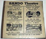 SANDO Theatre; Sandoval, Illinois.