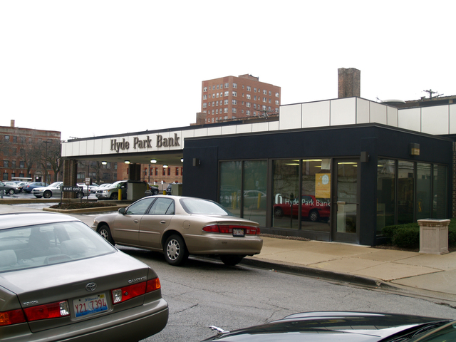 Hyde Park Bank Drive-In Facility, 5313 S. Lake Park Ave. - 12-3-2011