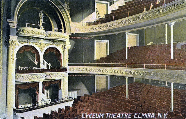 LYCEUM Theatre; Elmira, New York.