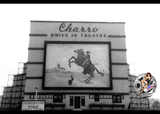 Charro Drive-in screen