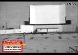 Charro Drive-in screen widened