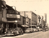 Queen Theater 1940's postcard image