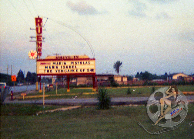 1969 Ruenes Theater marquee