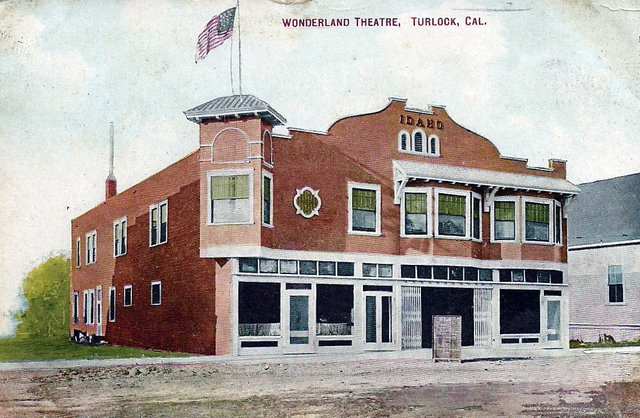 WONDERLAND Theatre; Turlock, California.
