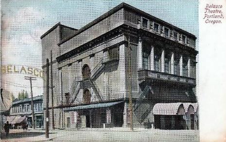 BELASCO (HEILIG, FOX) Theatre; Portland, Oregon.