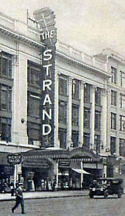 STRAND Theatre; New York, New York.