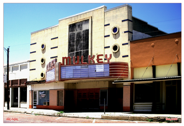 Mulkey Theatre ... Clarendon Texas