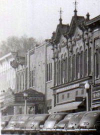 CLINTON Theatre; Saint Johns, Michigan.